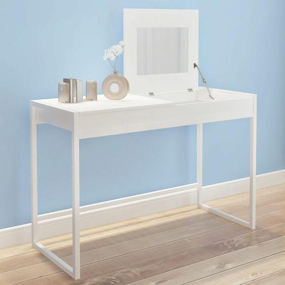 Table de toilette blanche HDV09393 - Hommoo