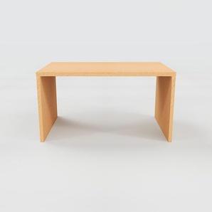 Table - Hêtre, design, plateau de table raffiné - 140 x 75 x 90 cm, personnalisable