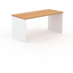 Table en hêtre, bois massif, design contemporain, table en bois élégante - 160 x 75 x 70 cm, personnalisable