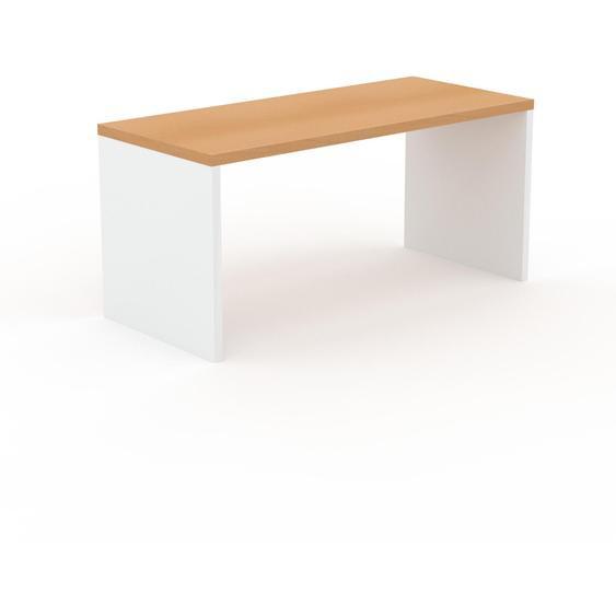 Table - Hêtre, design, plateau de table raffiné - 160 x 75 x 70 cm, personnalisable