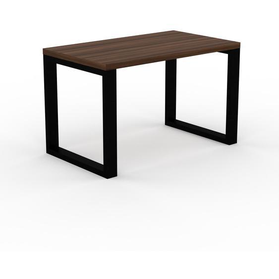 Table - Noyer, design, plateau de table raffiné - 120 x 75 x 70 cm, personnalisable