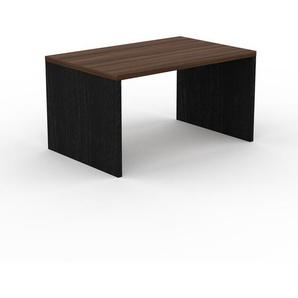 Table - Noyer, design, plateau de table raffiné - 140 x 75 x 90 cm, personnalisable
