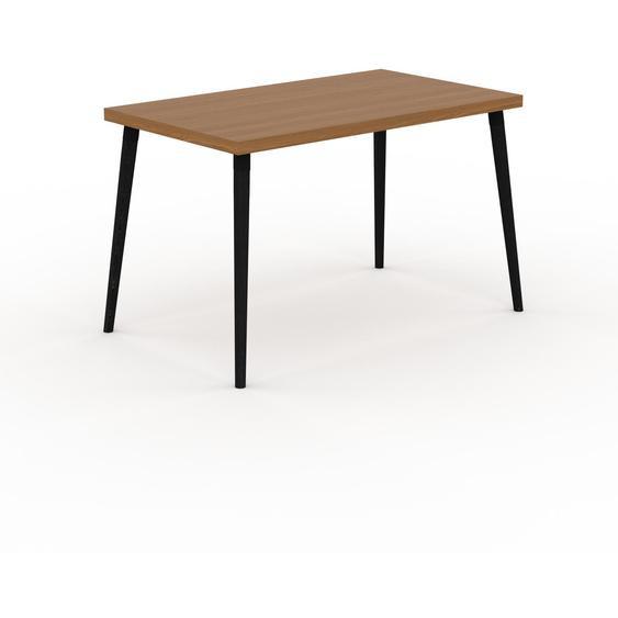 Table scandinave - Chêne, style nordique, plateau de table épuré - 120 x 75 x 70 cm, personnalisable