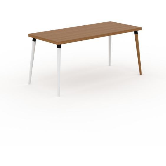 Table scandinave - Chêne, style nordique, plateau de table épuré - 160 x 75 x 70 cm, personnalisable