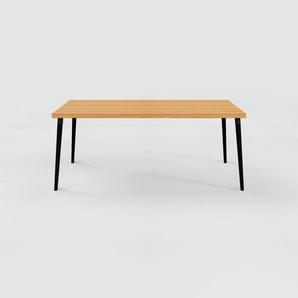Table en chêne, bois massif, design contemporain, table en bois élégante - 180 x 75 x 90 cm, personnalisable