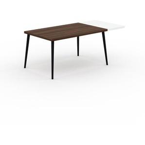 Table en noyer, bois massif, design contemporain, table en bois élégante - 190 x 75 x 90 cm, personnalisable