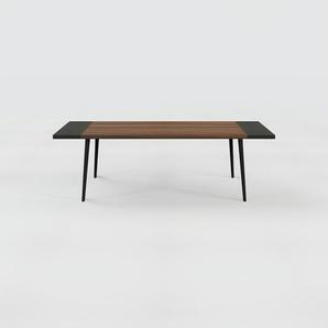 Table en noyer, bois massif, design contemporain, table en bois élégante - 240 x 75 x 90 cm, personnalisable