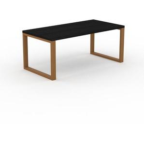 Table - Wengé, design, plateau de table raffiné - 180 x 75 x 90 cm, personnalisable