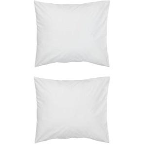 Taies D'oreiller - Hôtel Coton Satin Blanc (blanc)