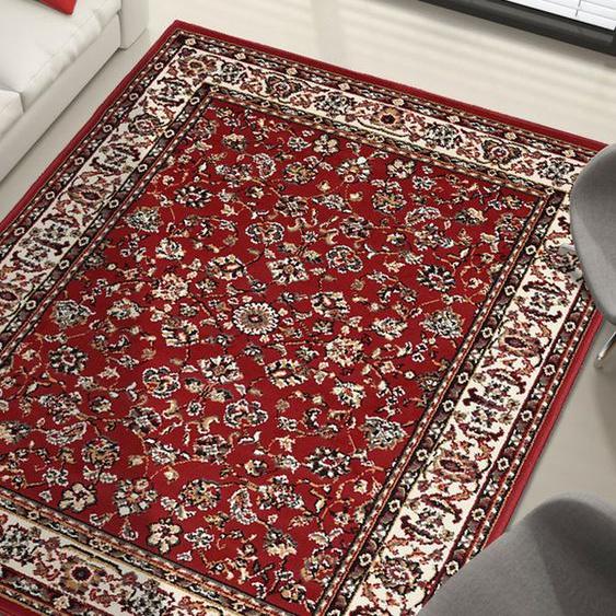 Tapis Chambre Bc Sans Medaillon Rouge 160 X 225 Cm Fabriqué En Europe Tapis De Salon Moderne Design Par Unamourdetapis