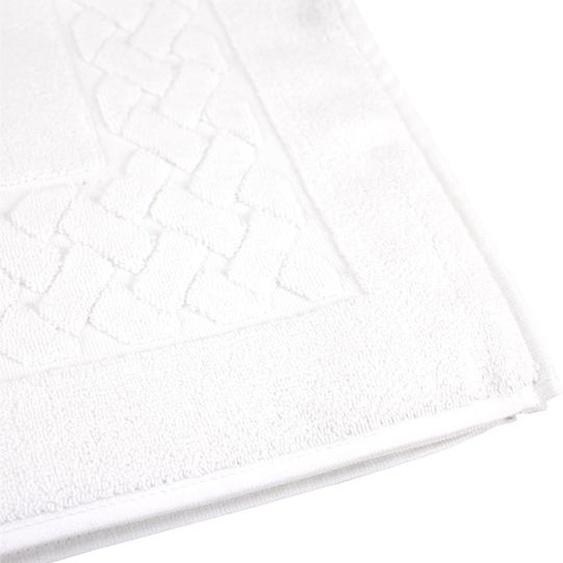 Tapis de Bain 60x100 cm 5 Ans de Garantie Ultra Doux et Absorbant Bleu Linea Due Tapis de Bain 3D MERKUR Antid/érapant