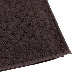 Tapis de bain 50x80 cm ROYAL CRESENT Chocolat 850 g/m2