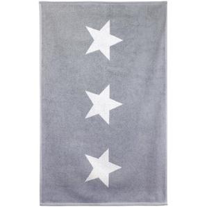 Tapis de bain 60x90 cm 100% coton 700 g/m2 STARS Gris