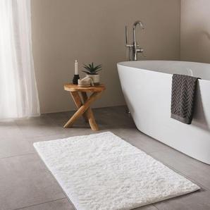 Tapis de Bain Bamboo Blanc 50x80 cm - Tapis pour salle de bain