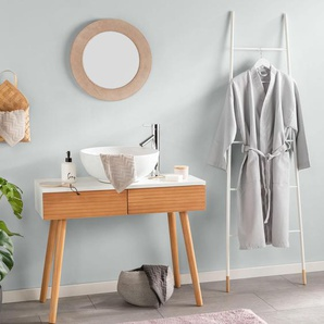 Tapis de Bain Bamboo Mauve 50x80 cm - Tapis pour salle de bain