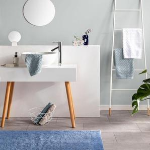Tapis de Bain Loops Bleu clair 50x80 cm - Tapis pour salle de bain