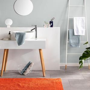 Tapis de Bain Loops Orange 50x80 cm - Tapis pour salle de bain