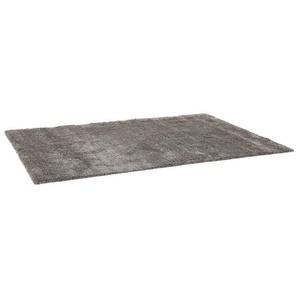 Tapis de salon shaggy TISSO gris foncé - 120x170 cm
