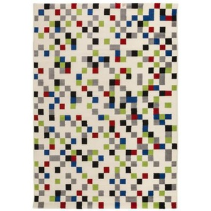 Tapis design rectangulaire multicolore - Palerme