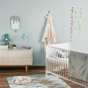 Tapis enfant Juno Turquoise 120x170 cm - Tapis pour chambre denfants/bébé