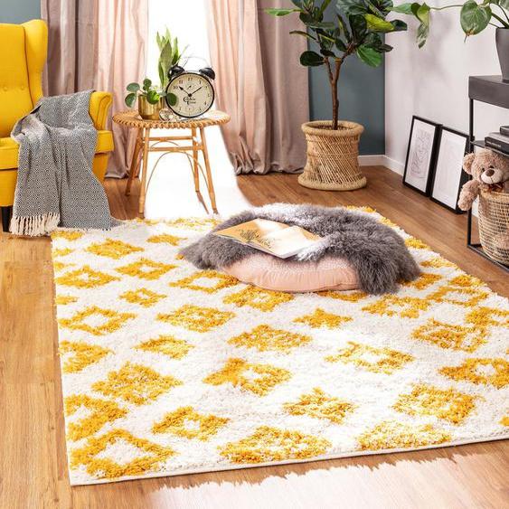 Tapis enfant Soho Jaune 160x230 cm - Tapis pour chambre denfants/bébé