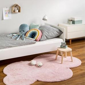 Tapis lavables pour enfants Bambini Cloud Rose 120x160 cm - Tapis lavable pour chambre denfants/bébé