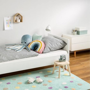 Tapis lavables pour enfants Bambini Dots Turquoise 120x180 cm - Tapis lavable pour chambre denfants/bébé