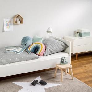 Tapis lavables pour enfants Bambini Star Gris 150x200 cm - Tapis lavable pour chambre denfants/bébé