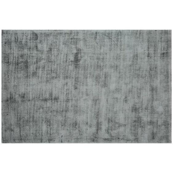 Tapis LOUVAIN - 100% viscose - 200 x 290 cm - Argenté