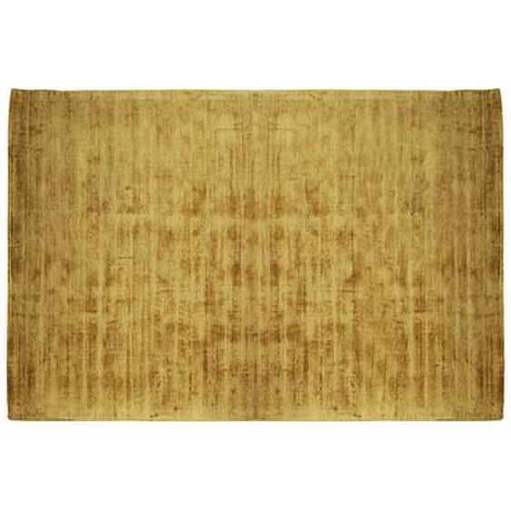 Tapis LOUVAIN - 100% viscose - 200 x 290 cm - Moutarde