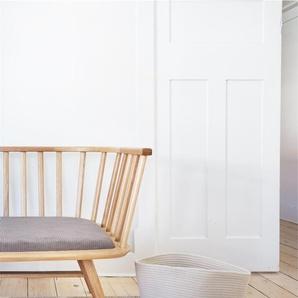 Tapis poil ras Pastel Jaune 80x150 cm - Tapis poil court design moderne pour salon