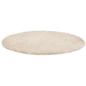 Tapis rond design TISSO beige - Ø 160 cm