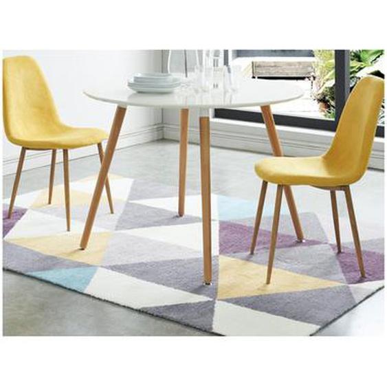 Tapis tissé style scandinave NOROI - Multicolore  - 160*230cm