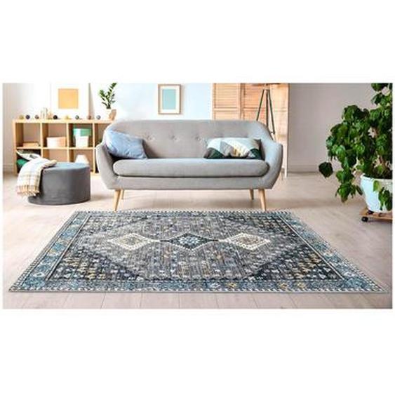 Tapis vintage oriental CLOSSY - 200 x 290 cm - gris