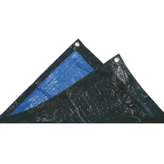 TECHIT Bâche lourde de protection 140g/m² - 4 x 5m