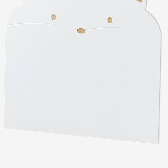 Tête de lit Chat blanc