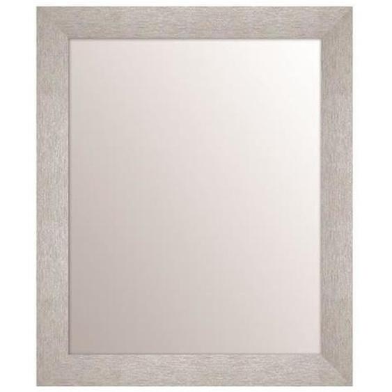 ARTESANIA TEXA miroir rectangulaire 40x50 cm Argent