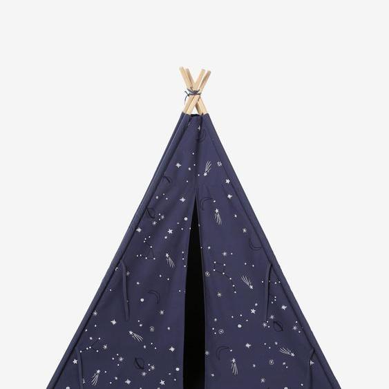 Tipi avec détails phosphorescents Constellation bleu