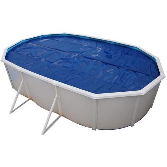 TORRENTE Bâche isotherme pour Piscine hors sol 730 x 366 cm - Bleue