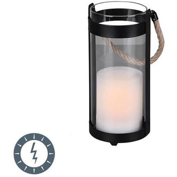 Trio Leuchten Lampe de table à effet de flamme avec LED sur solaire IP44 - Muna