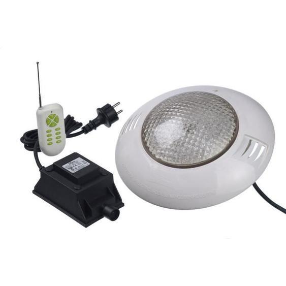 UBBINK Kit spot 406 LED couleur + télécommande piscine