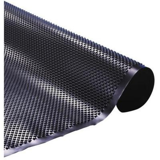 UBBINK Nappe à excroissances en polyéthylène pour piscine - Noir