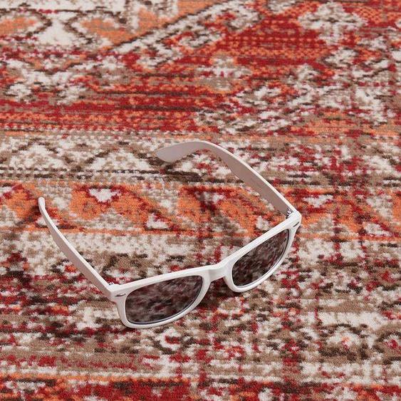 Un Amour De Tapis Tapis Moderne 120x170 Cm Rectangulaire Af Dazor Rouge Salon Adapté Au Chauffage Par Le Sol