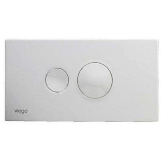 Viega Visign for Style 10 Plaque de commande Blanc 596316