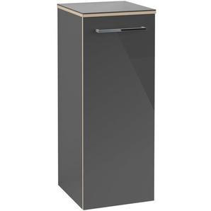 Villeroy & boch Avento hh armoire 350x370x892 porte charnière droite 2 planchettes crystal gris a89501b1