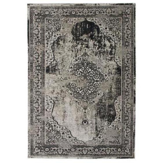 VINTAGE Tapis intérieur et extérieur - 120 x 170 cm - Gris - Polypropylène