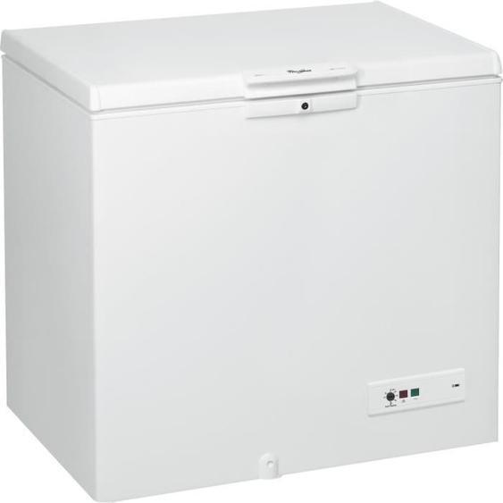 WHIRLPOOL - WHM251122 - Congélateur coffre - 251L - A++ - L101cm x H91,6 - Blanc