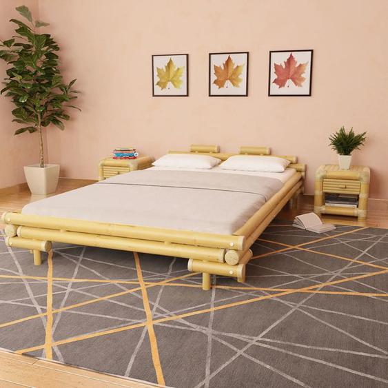 Cadre de lit Bambou 140 x 200 cm - YOUTHUP