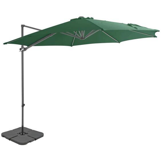 Youthup - Parasol avec base portable Vert